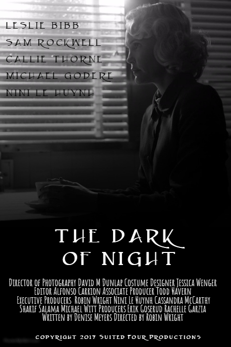 the dark of night poster